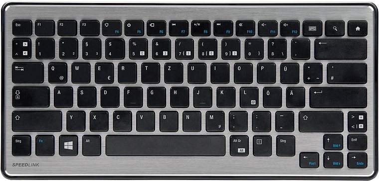 SPEEDLINK Bluetooth Tastatur »CAREX Keyboard - Bluetooth, schwarz«