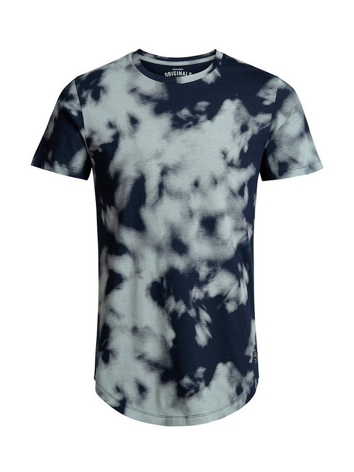 Jack & Jones Komplett bedrucktes T-Shirt in Navy Blazer
