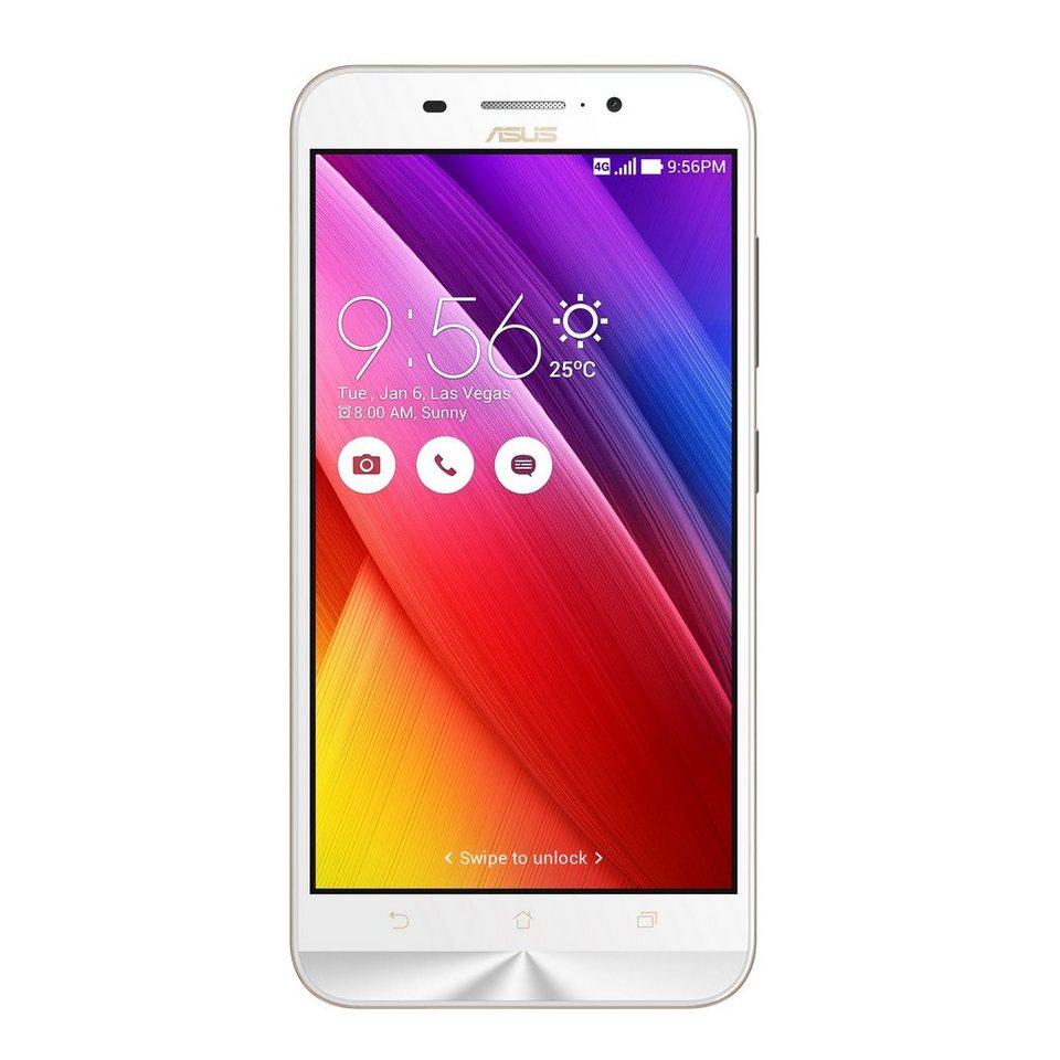 """ASUS ZenFone Max ZC550KL-6B043WW »Quad-Core, 13,9cm (5,5"""") HD, 16GB, 2GB« in weiß"""