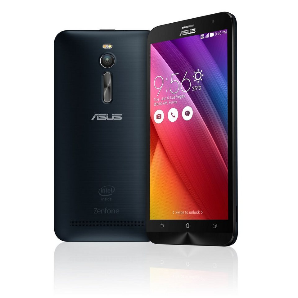ASUS ZenFone 2 ZE551ML-6A739WW »Intel Atom Z3580, 13,9cm (5,5?), 32GB, 4 GB« in schwarz