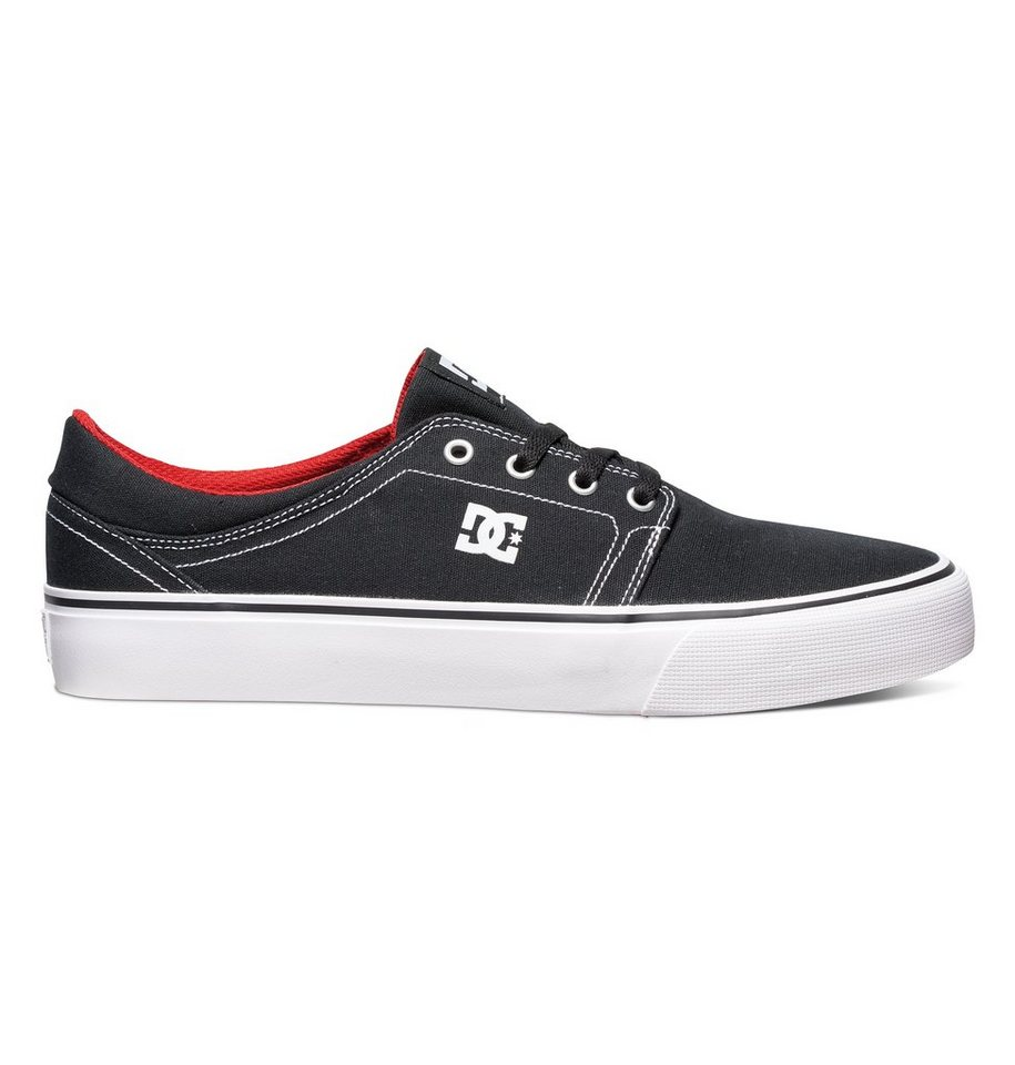 DC Shoes Low top »Trase TX« in Black/white/red