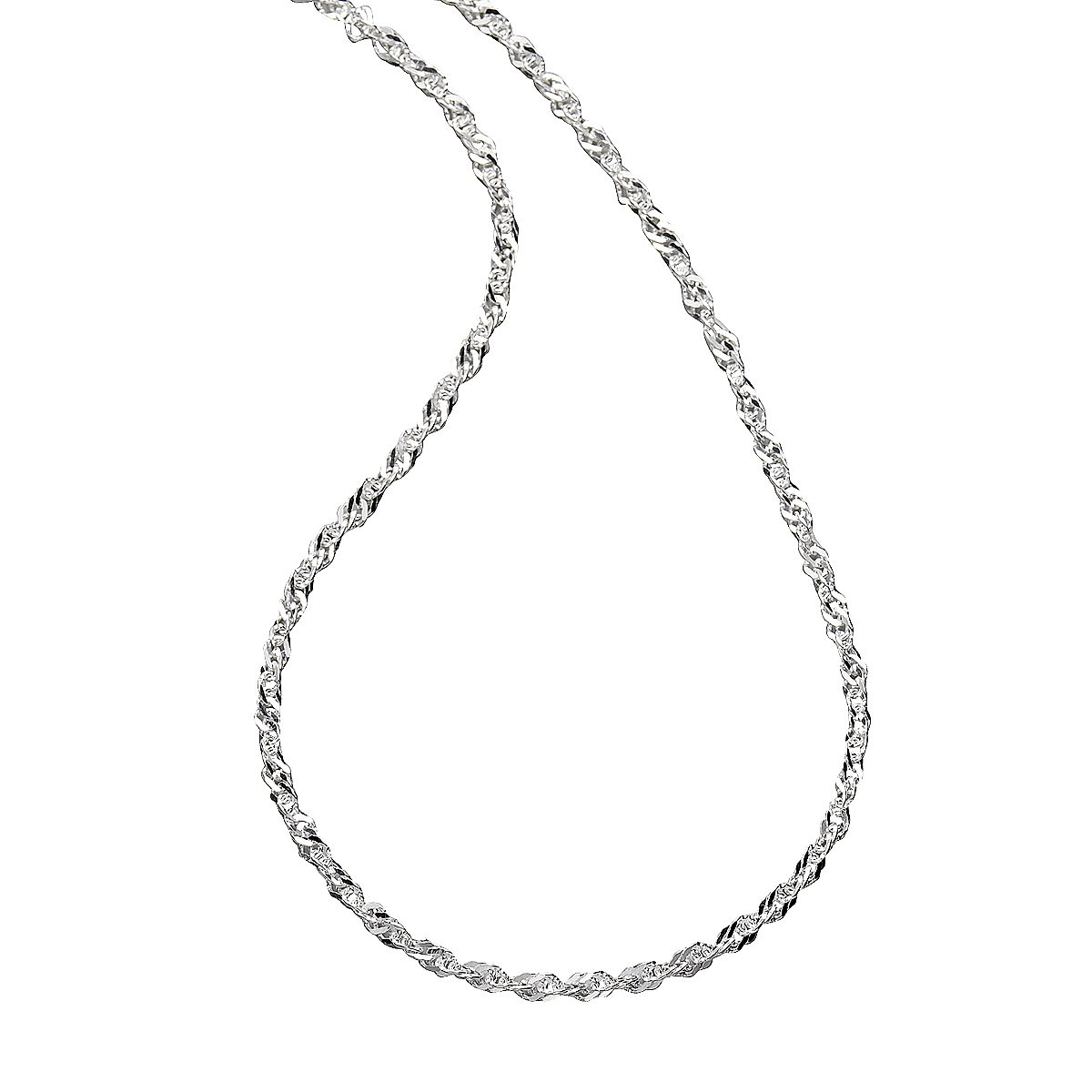 Zeeme Collier »925/- Sterling Silber Singapurkette«
