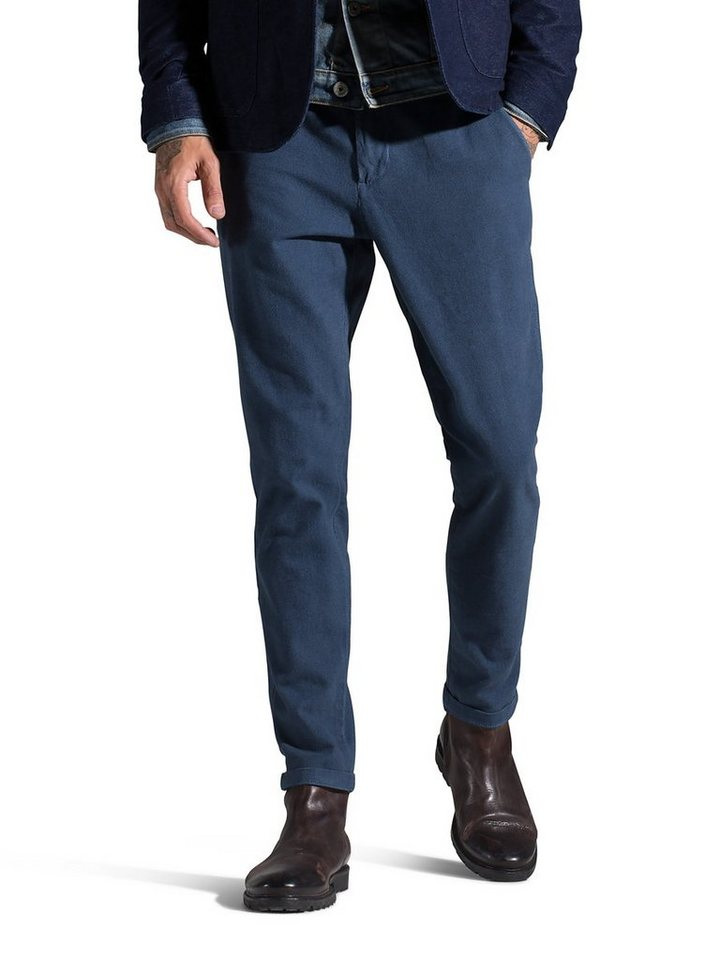 Jack & Jones Marco Pedro AKM 189 Blue Chino in Mineral Blue