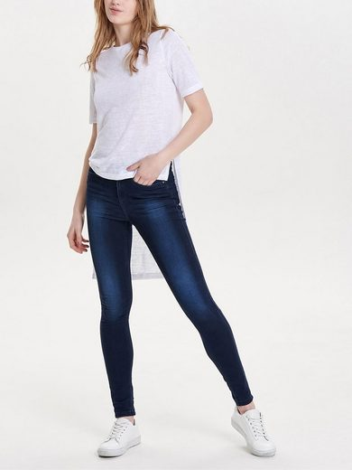 Only High-low Bodice With Short Sleeves