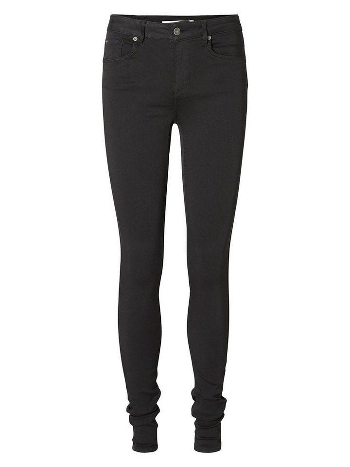 Vero Moda Lux NW Skinny Fit Jeans in Black