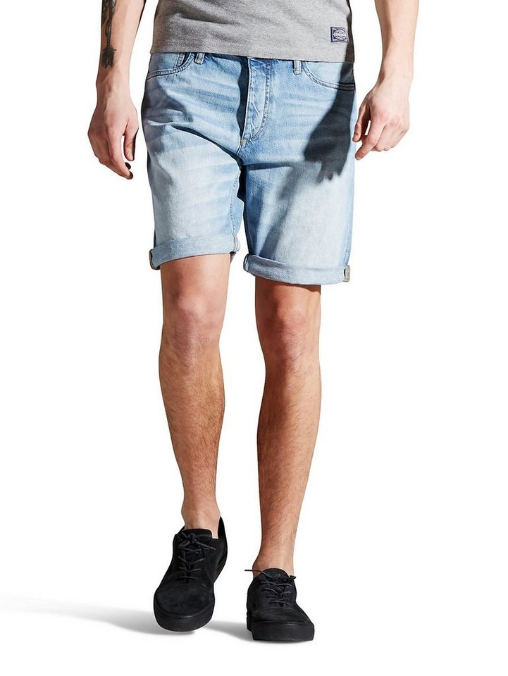 Jack & Jones Rick Original Jeansshorts in Blue Denim