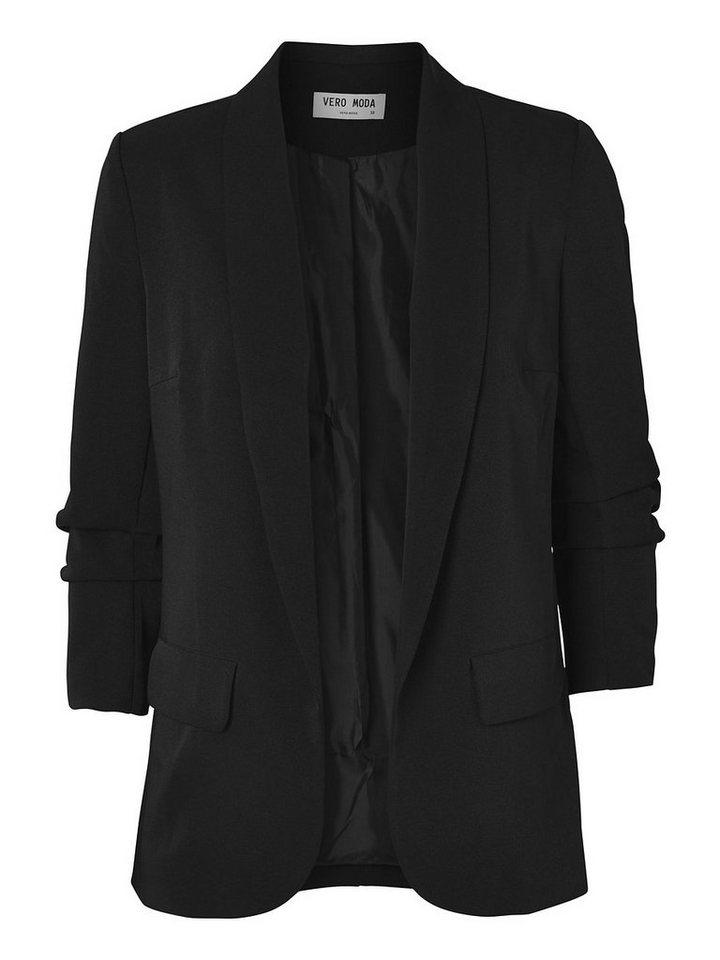 Vero Moda Langärmeliger Blazer in Black