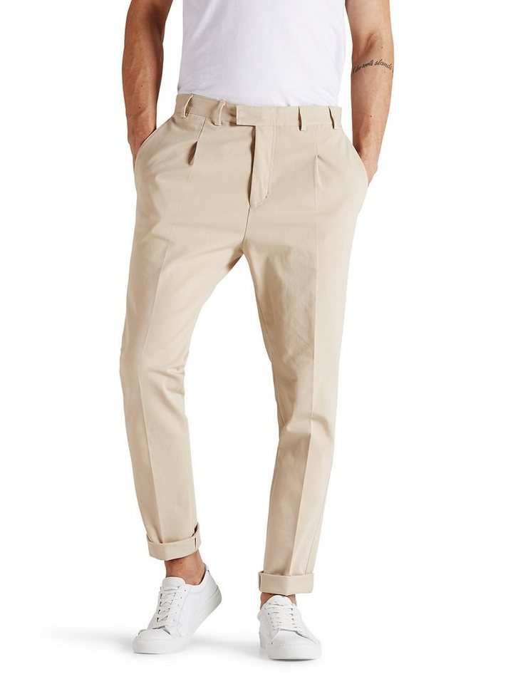 Jack & Jones Taillierte Khaki- Hose in Kelp