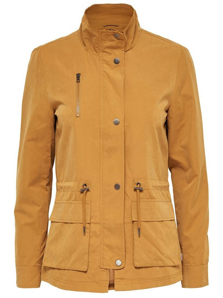 Only Kurze Jacke in Golden Brown