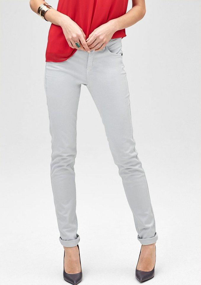 s.Oliver PREMIUM Slim: Colored Stretch-Jeans in blue