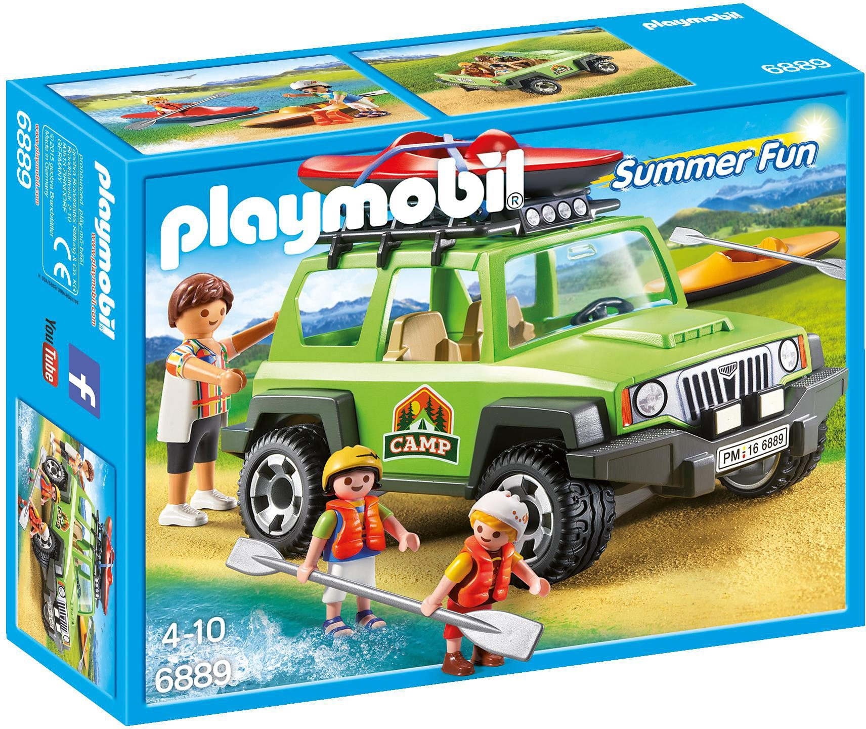 Playmobil® Camp-Geländewagen (6889), »Summer Fun«