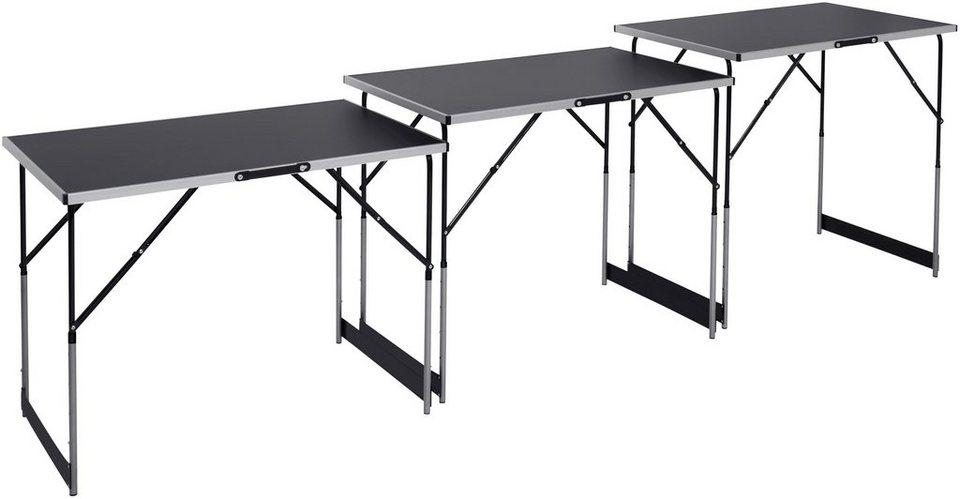 Arbeitstisch »Multifunktionstisch 3-teilig« in schwarz