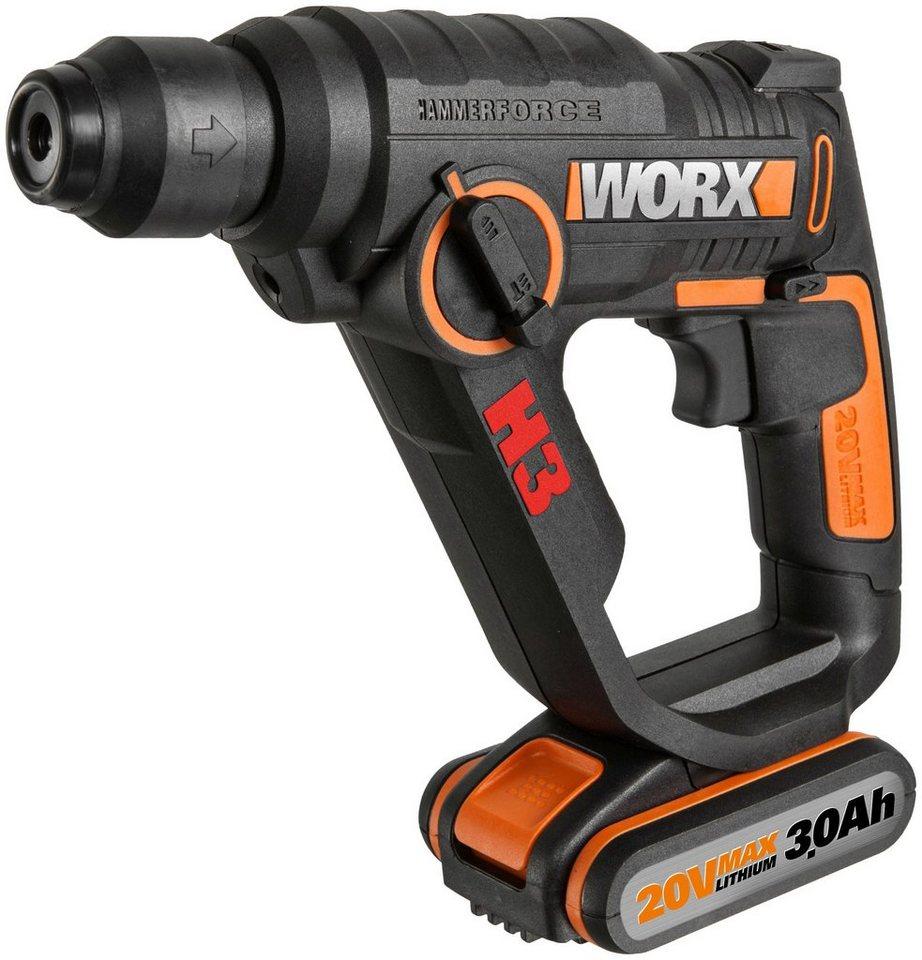 Worx Akkubohrhammer »WX390.31« in orange