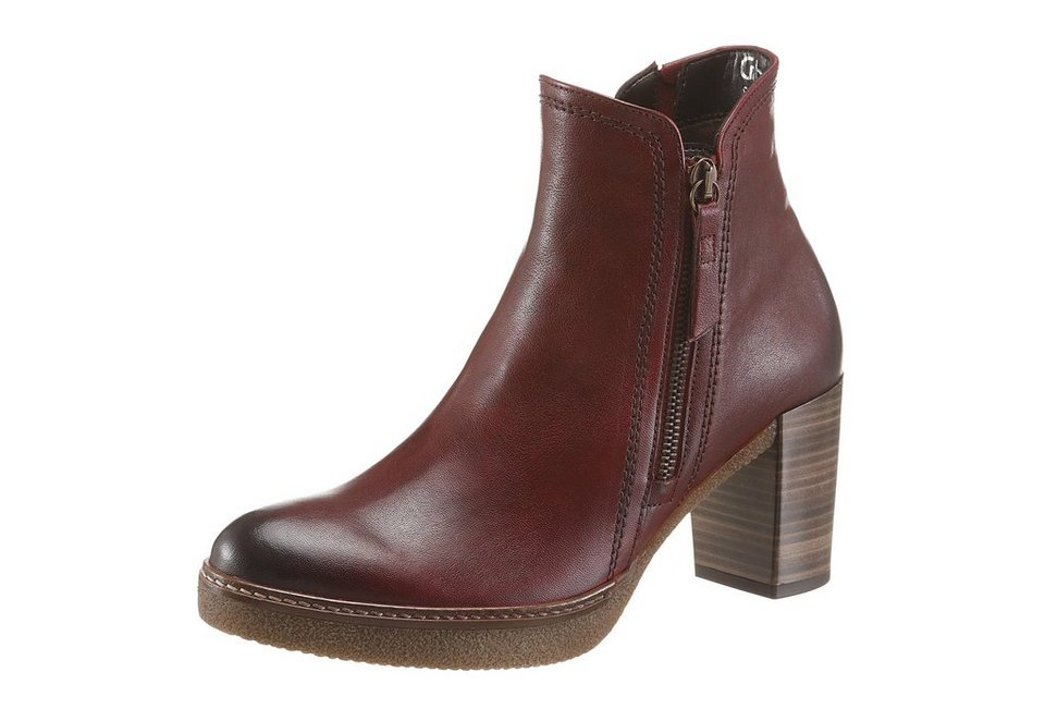 Gabor Ankleboots in bordeaux
