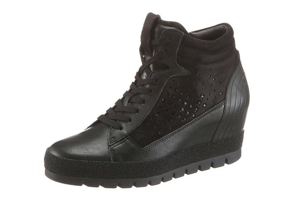 Gabor Wedgesneaker in schwarz