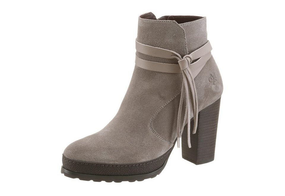 Marc O'Polo Stiefelette in taupe