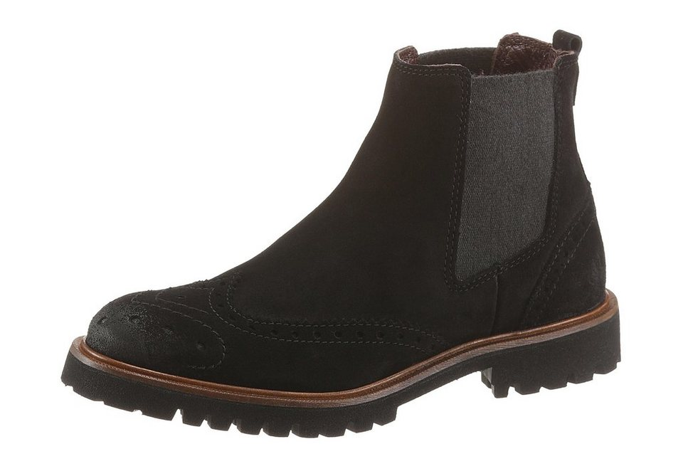Marc O'Polo Chelseaboots in schwarz