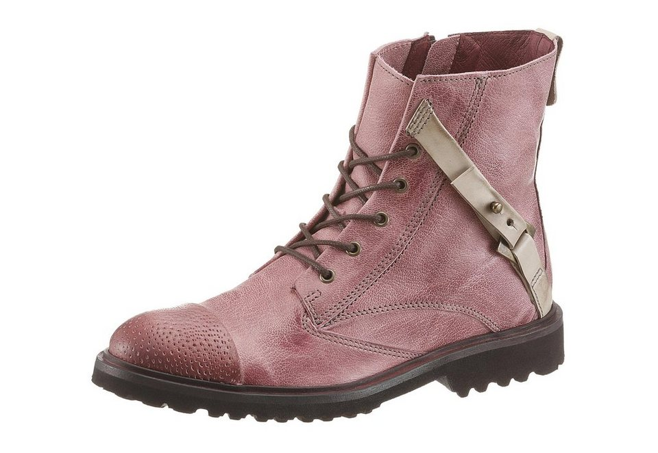 DKODE Schnürboots in rosé-taupe