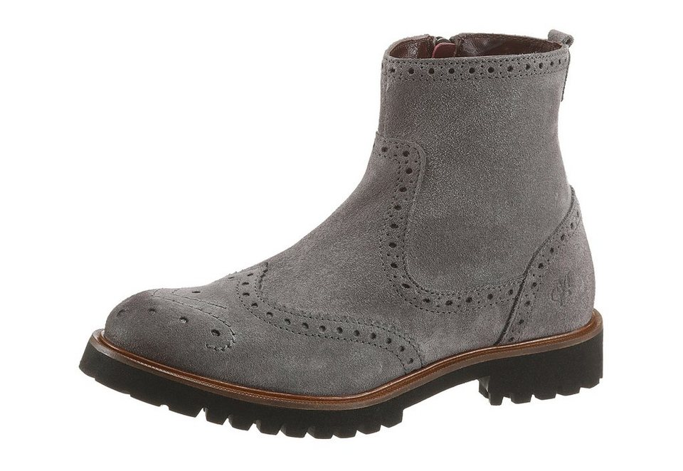 Marc O'Polo Sommerboots in grau