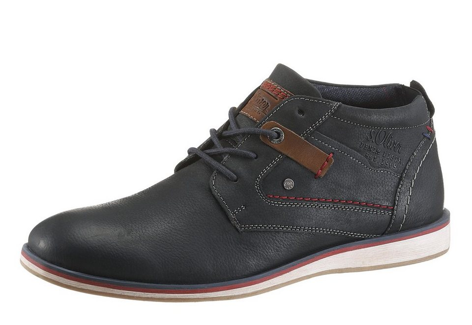 s.Oliver RED LABEL Schnürboots im Casual Look in navy