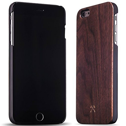 Woodcessories EcoCase - iPhone 6 Plus / 6s Plus Echtholz Case - Claude in braun