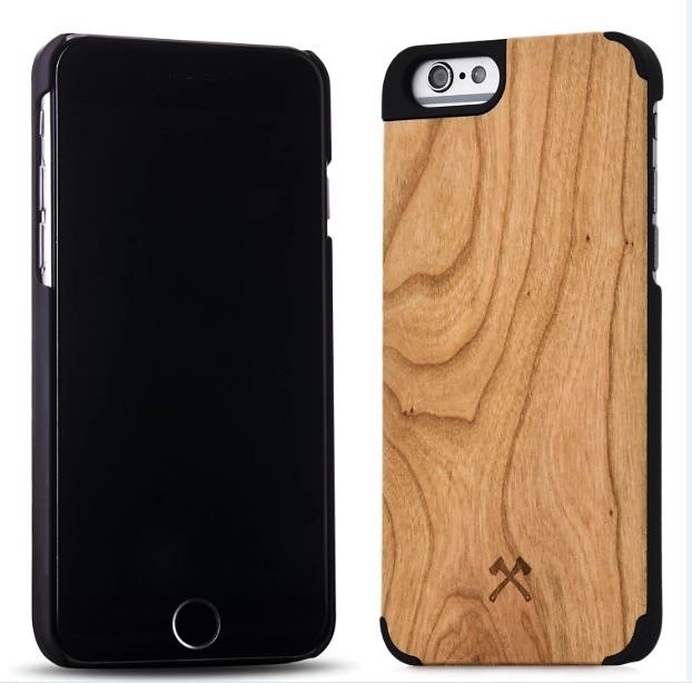 Woodcessories EcoCase - iPhone 6 Plus / 6s Plus Echtholz Case - Camille in braun
