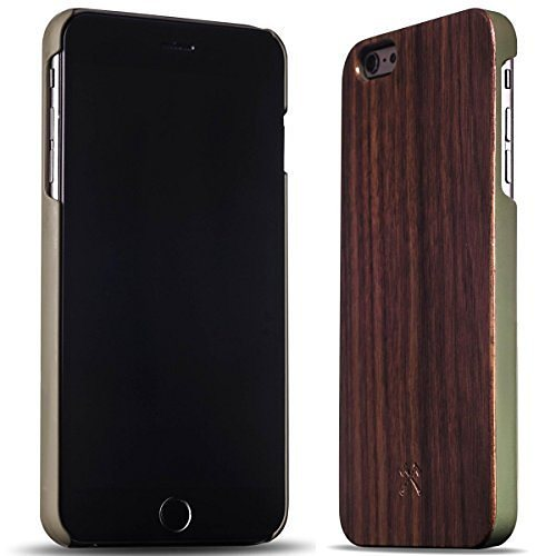 Woodcessories EcoCase - iPhone 6 Plus / 6s Plus Echtholz Case - Conner in braun