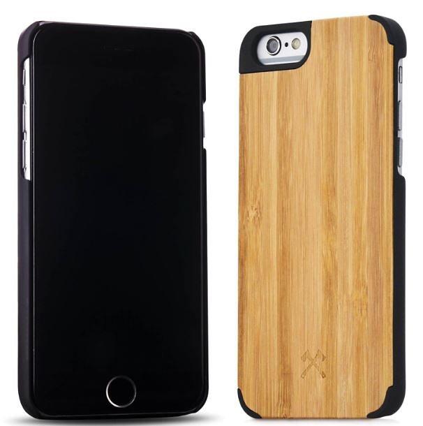Woodcessories EcoCase - iPhone 6 Plus / 6s Plus Echtholz Case - Caspar in braun