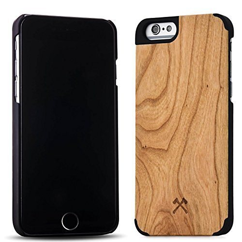 Woodcessories EcoCase - iPhone 6 / 6s Echtholz Case - Statham in braun