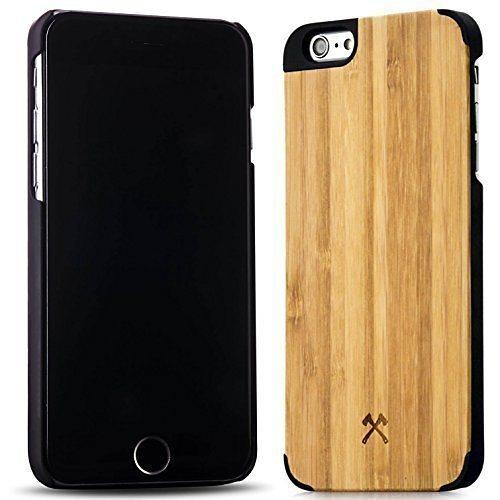 Woodcessories EcoCase - iPhone 6 Plus / 6s Plus Echtholz Case - Norris in braun
