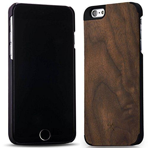 Woodcessories EcoCase - iPhone 6 Plus / 6s Plus Echtholz Case - van Damme in braun
