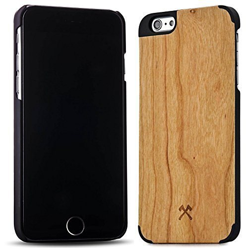 Woodcessories EcoCase - iPhone 6 Plus / 6s Plus Echtholz Case - Statham in braun
