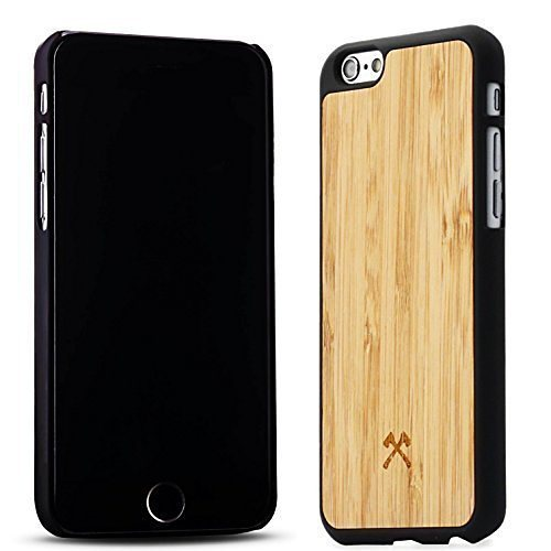 Woodcessories EcoCase - iPhone 6 Plus / 6s Plus Echtholz Case - Pierre in braun