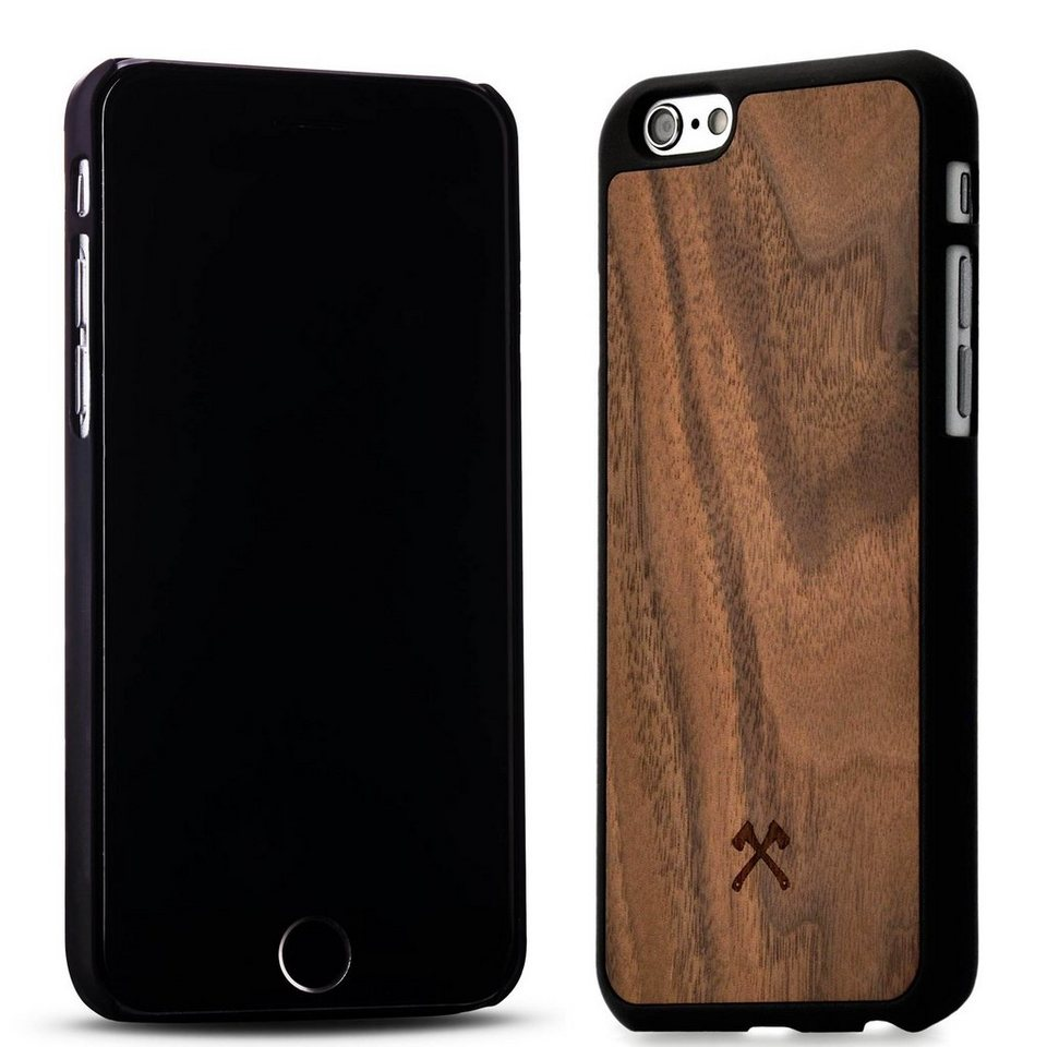Woodcessories EcoCase - iPhone 6 / 6s Echtholz Case - Calvin in braun