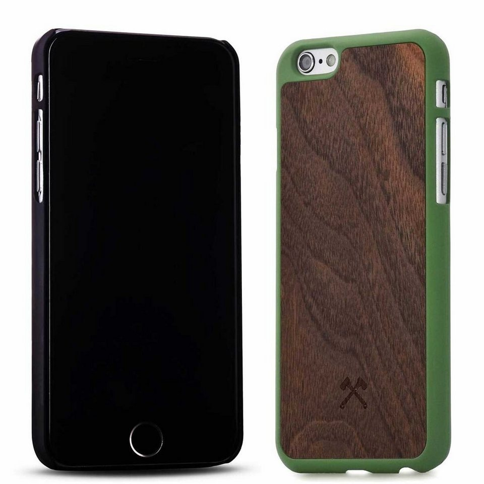 Woodcessories EcoCase - iPhone 6 / 6s Echtholz Case - Giorgio in braun