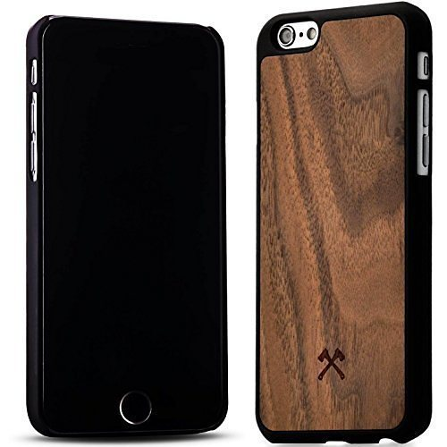 Woodcessories EcoCase - iPhone 6 Plus / 6s Plus Echtholz Case - Calvin in braun