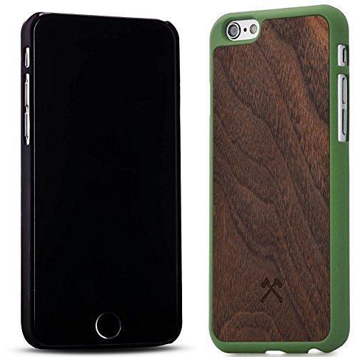 Woodcessories EcoCase - iPhone 6 Plus / 6s Plus Echtholz Case - Giorgio in braun