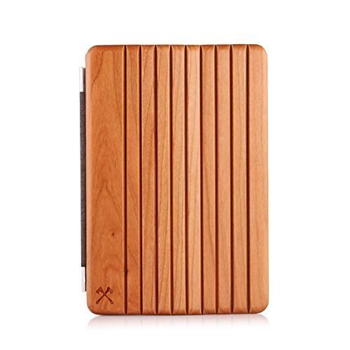 Woodcessories EcoCover - iPad Mini 1, 2, 3 Echtholz Cover - Feivel in braun