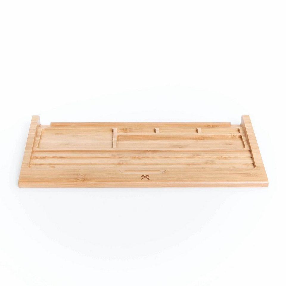 Woodcessories EcoTray - Einlage für Apple Keyboard aus Echtholz - Alfred in braun