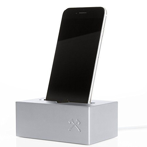 SolidDock Aluminium Ladestation für das Apple iPhone, Farbe: space grau in space grau