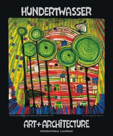 Kalender »Hundertwasser International Calendar Art +...«