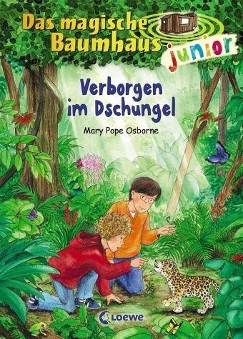 Gebundenes Buch »Verborgen im Dschungel / Das magische Baumhaus...«