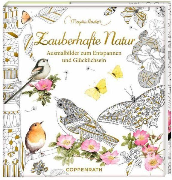 Broschiertes Buch »Ausmalbuch - Meine zauberhafte Natur«