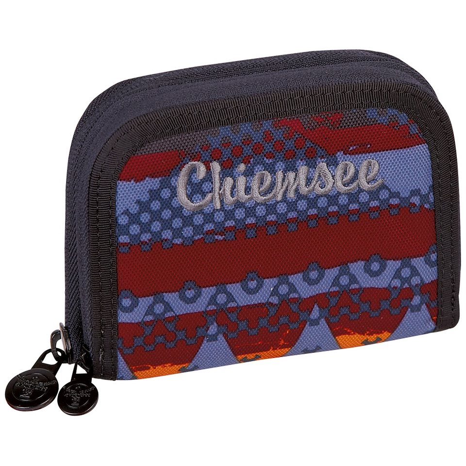 Chiemsee Geldbeutel »TWIN ZIP WALLET« in native chiemse