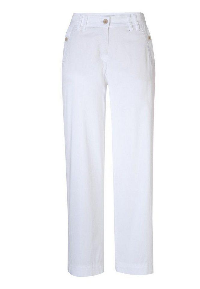 BRAX Hose »MELBOURNE S« in WHITE