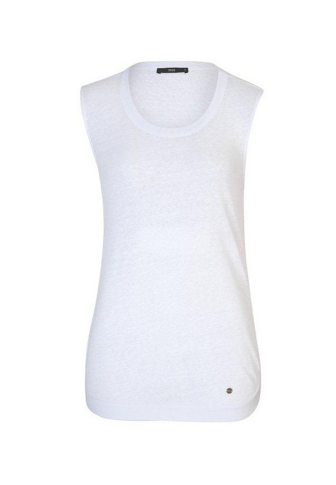 BRAX T-Shirt »SILVY« in WHITE