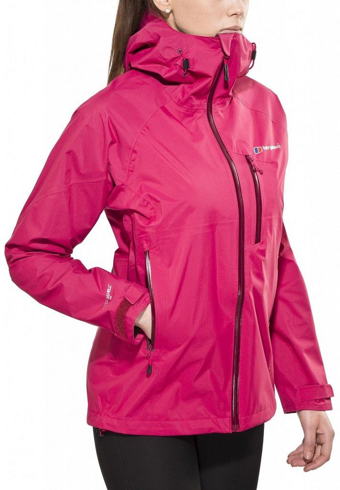 Berghaus Regenjacke »Light Speed Hydroshell Jacket Women« in pink