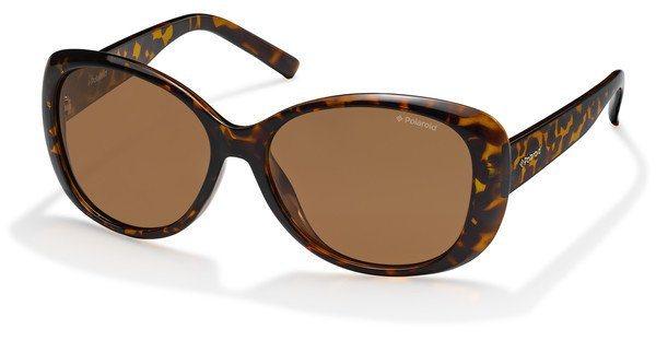 Polaroid Damen Sonnenbrille » PLD 4014/S« in V08/HE - braun/braun