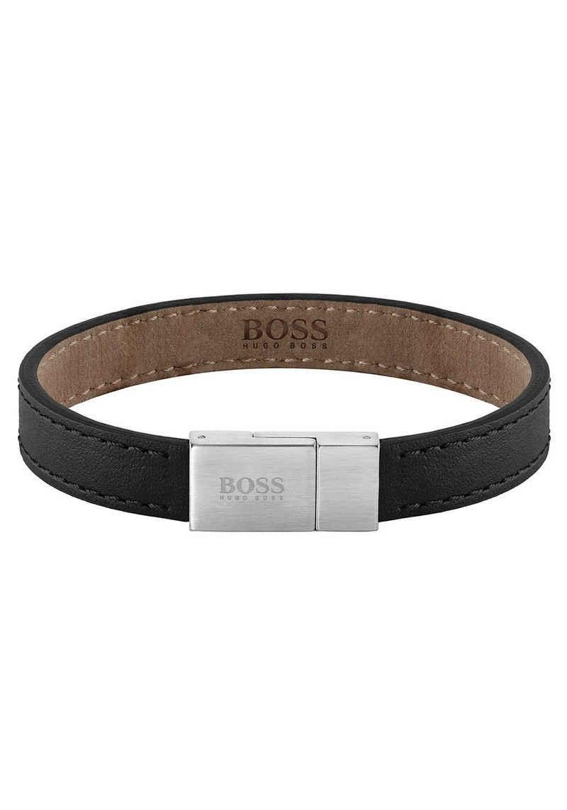 Boss Armband »LEATHER ESSENTIALS, 1580033M, 1580033L«
