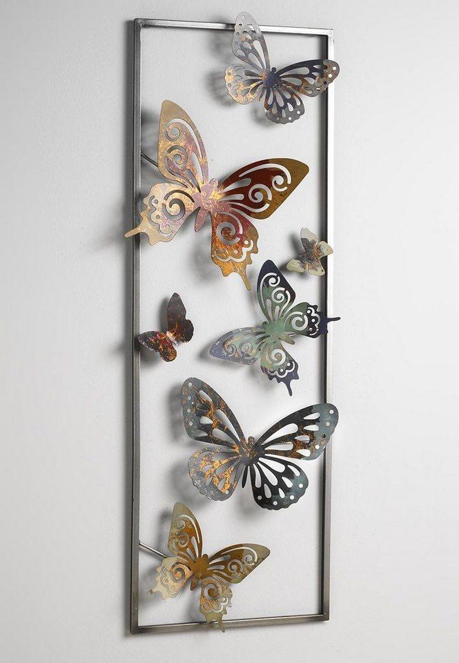 Home Affaire Wanddeko Mit Schmetterlingen Kaufen | Otto